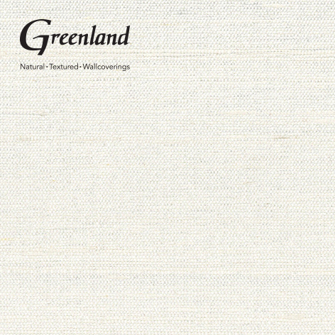 Greenland Wallcovering SK1001100% pure silk wallcovering paper white