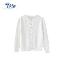 Girls Cardigan Sweater School Uniforms Button Long Sleeve Knit Tops