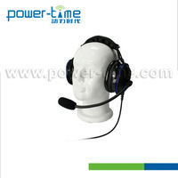 High Noise Cancelling Headphone for walkie talkie Over the Head Style from Power-Time.