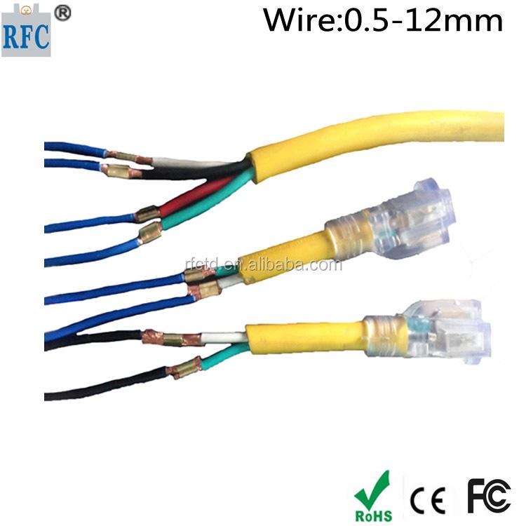 auto supply copper wire scrap machine or splice tool for wire harness  connector