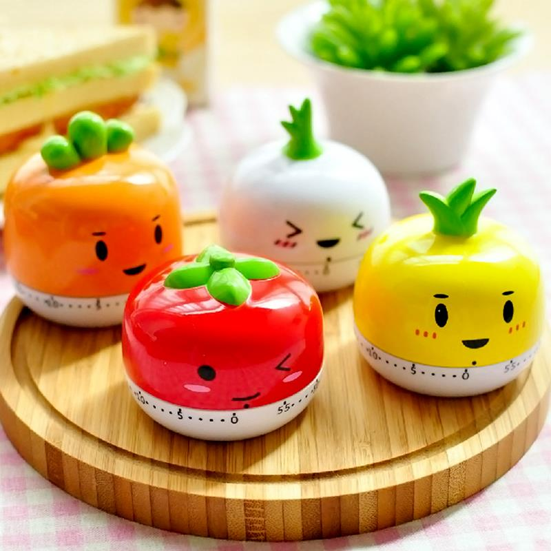 Cute Timer Kitchen 60 Minute Cooking Mechanical Timer