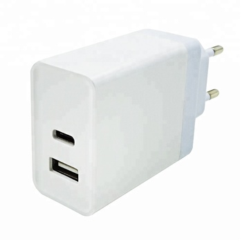Hot trending usb adapter QC3.0  type C PD wall charger