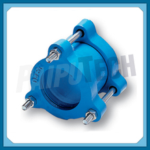 Flexible Universal Dresser Coupling for PVC Pipes