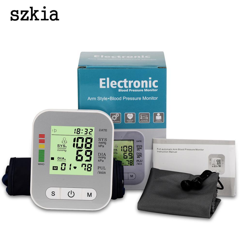 SZKIA CE RoHS china ambulatory lifecare blood pressure monitor tensiometer digital blood pressure monitor with voice