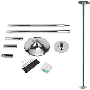 Portable Dance Poles Stripper Fitness Pole 45mm Chrome