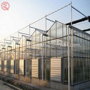China Supplier Vegetable Seeding Hydroponics Clear Pc Greenhouse Cooling Systems