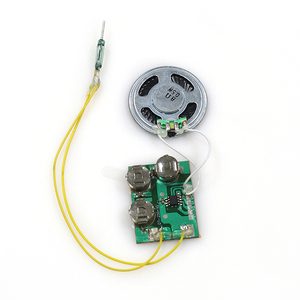 led light sensitive music module and sound module for greeting card