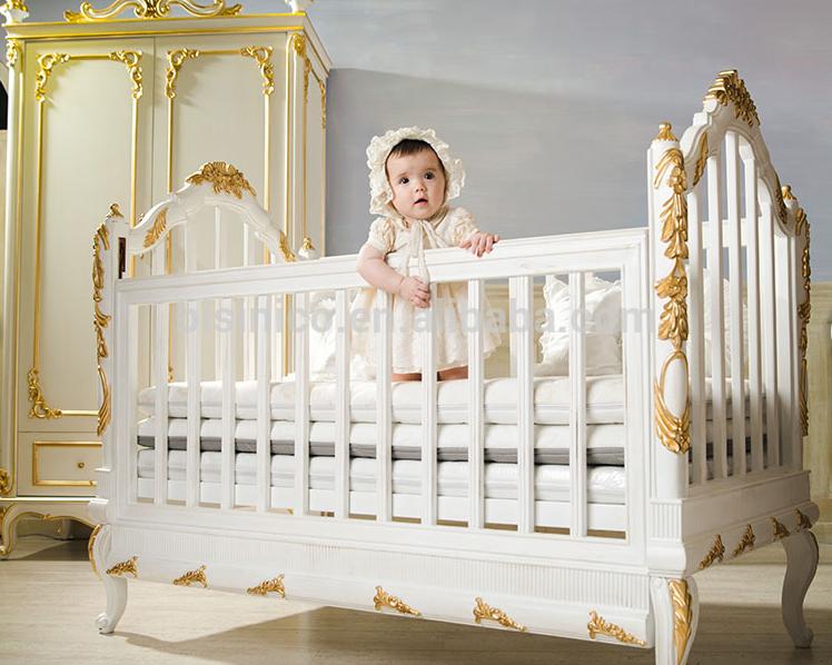 Culla crema mobili camera da letto del bambino culla mobili