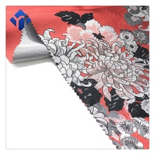 Nouveau design Chine traditionnelle 100% polyester jacquard tissu pour cheongsam qipao robe