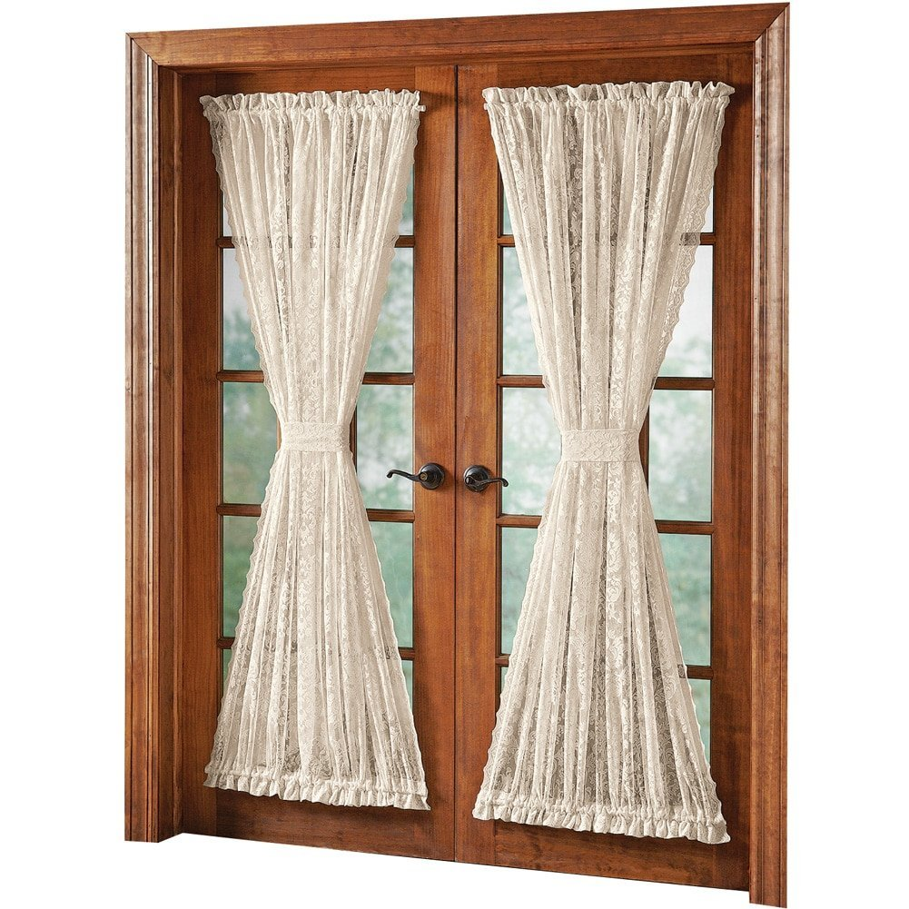 of panels with valance panel shower new drapes priscilla bridal lace curtain amp curtains