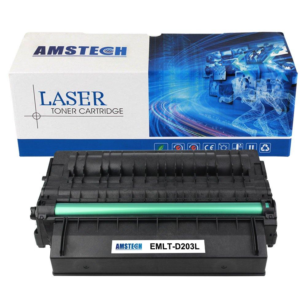 Amstech Compatible for Samsung 203 Toner MLT-D203L D203L MLTD203L MLT-D203S MLT-D203 203s Samsung Proxpress SL-M3870 M3320nd M3870fw M3820dw M3370fd M4070fr 3320DN M4020ND Laser Printer Cartridge