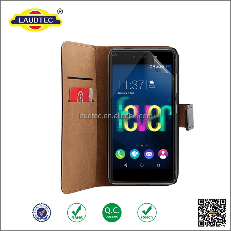 Premium PU Leather SlimGrain Stand Flip Case Skin Cover for wiko fever <strong>4g</strong>