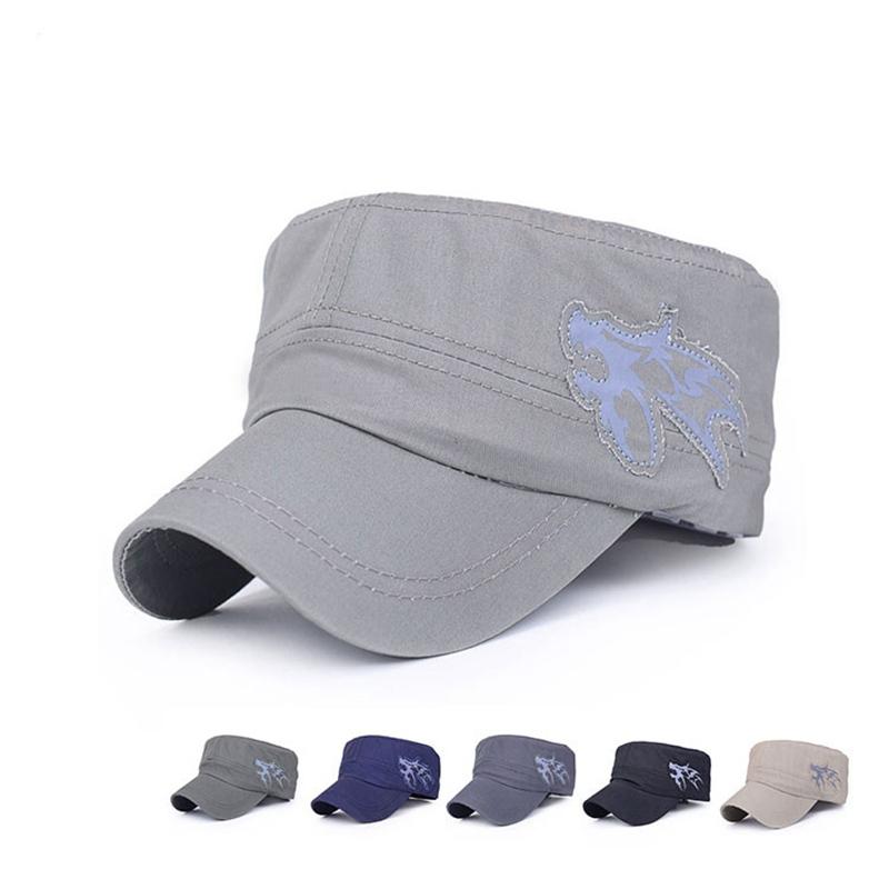 Women's Hats Classic Plain Vintage Army Military Cadet Style Cotton Baseball Cap Hat Adjustable Brand Hat Caps Wholesale Dropping Casquette