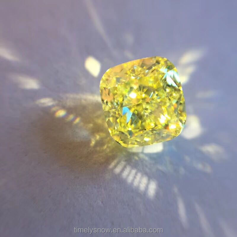 1.40ct GIA certified Real Brilliant Cut Yellow Diamond
