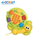 Early learning touch lovely lighted tortoise mini baby phone toy with music