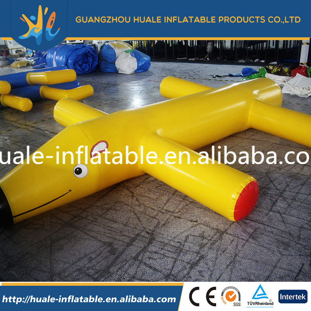 Exciting Inflatable water toys inflatable water dog floating for sale/ inflatable toys