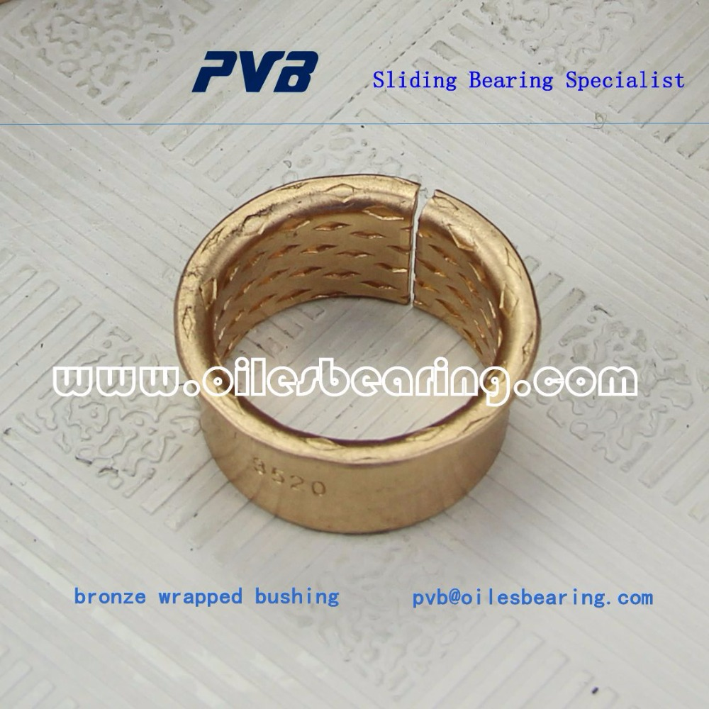 WF WB700 CuSn8 bronze bearing, MBZ B09 flanged bushs, wrapped bronze flanged bushing