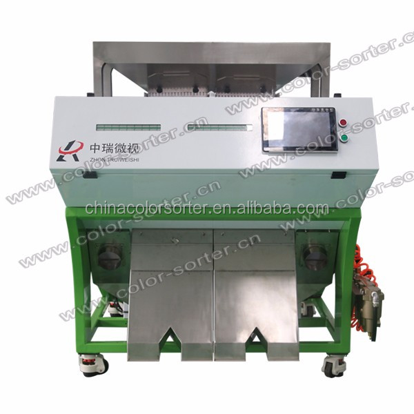 Color sorter processing machine for PET/PP/HDPE plastic with high resolution