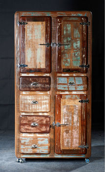 Antique Painted Wooden Kitchen Crockery Cabinet Buy Closed Kitchen