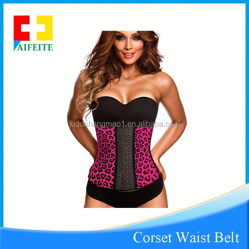 In stock smooth popular waist trainer 25 steel boned latex corset