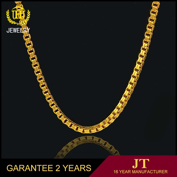 18k gold rope chain necklace and 5 gram gold chain models