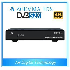4kUHD dvb s2x tv decoder twin dvb s2x/s2 + dvb t2/dvb c zgemma h7s support  stalker iptv T2-MI For Ukruan and Russia