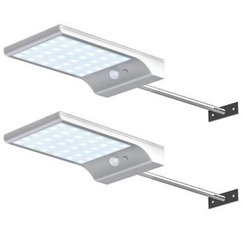 High brightness all in one Motion Sensor Detector Light solar led gutter lights solar street light outdoor
