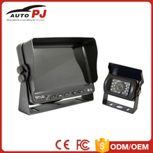 1080P AHD Bus / Truck Rearview System with 7 inch AHD Monitor & 115 Degreen Horizontal Angle car Camera