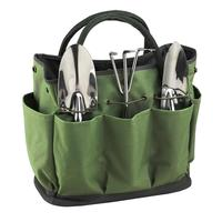 Collapsible garden tool bag tote bag