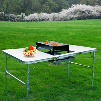 Coréenne Design Table En Buy Coréenne Aluminium Chine Barbecue table Nouveau Coréen Pliable De KcTl1JF
