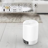 LED bluetooth speaker touch dimmer 3w clock alarm led wake up lamp lighting