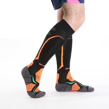 69f003c035 Pro Mens Football Compression Socks Women Knee High Running Marathon Sport  Socks