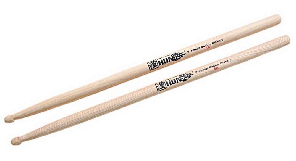 Drum Sticks Premium Quality Hickory 5A Drumsticks Versatile Drum Sticks Natural