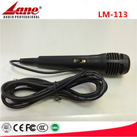 Lane Wired Karaoke Microphone With Lowest Price Lm-113 - Buy High ...