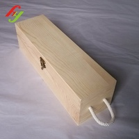 Hot Sale Good Quality Customized Cheap Wooden Wine Glass Packing Box