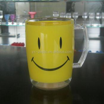 500ml plastic cupsplastic drinking glassmugs with handles