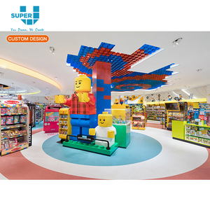 High End Toy Store Chains Retail Display Showcase