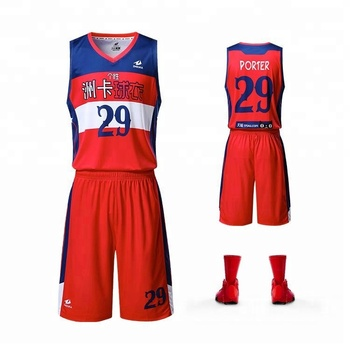 cf33f6f60f0d 2018 red Basketball match jersey full sublimation printing for team or club customized  basketball uniforms