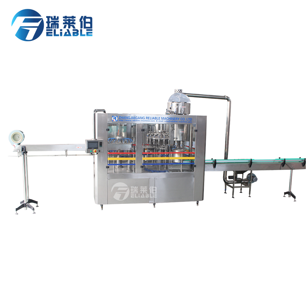 Excellent Quality Best-Selling Middle Type 6000BPH Fresh Fruit Juice Packaging Machine Juice Filling Equipment