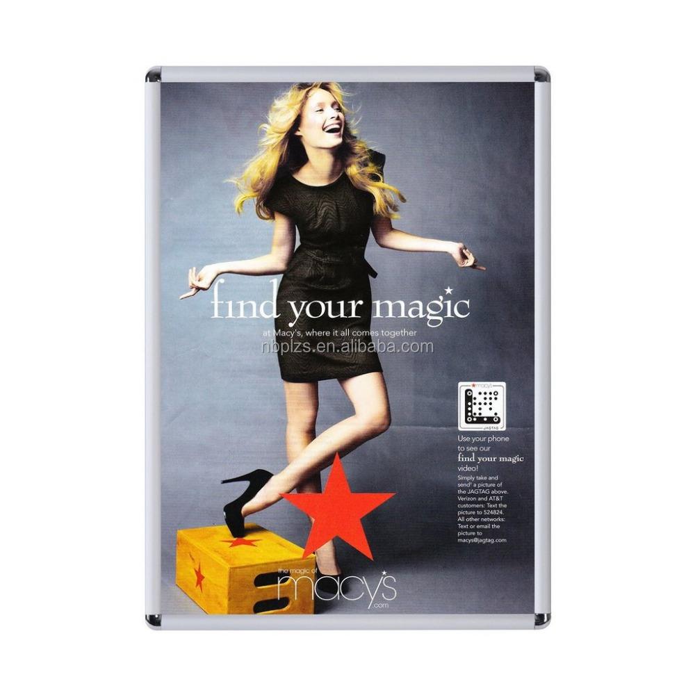 Venta al por mayor marcos del cartel esquinas redondas-Compre online ...