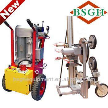 Sq-70am Hydraulic Stone Cutting Wire Saw Machine For Bridge - Buy ...
