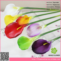 Plastic calla lily artificial flowers making for home decoration