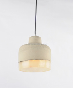 E27 hanging pendant concrete lamp with best wholesale low price