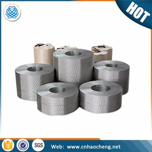350*40 mesh stainless steel Reverse dutch woven wire mesh for plastic conveyor mesh belt