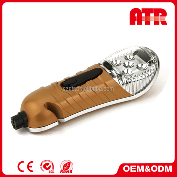 Multi-function car safety belt cutter and rechargeable led torch light flashlight