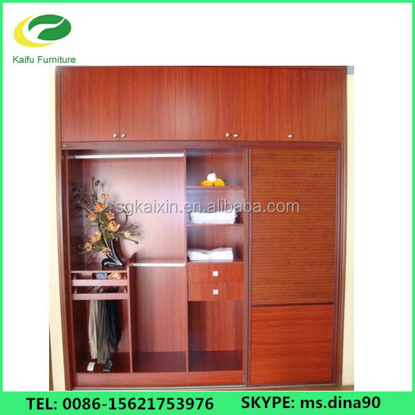 China custom made cheap closet organizers, indian wooden bedroom wardrobe designs