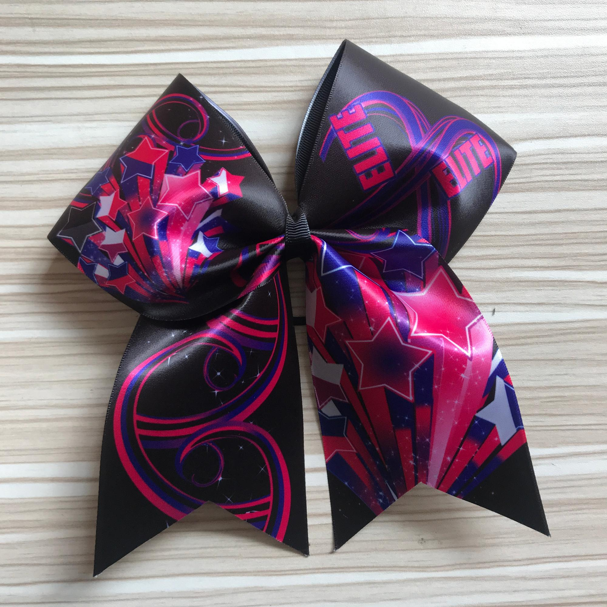 Cheerleading Uniforms Wholesale Cheer Bow Hair Accessories Women