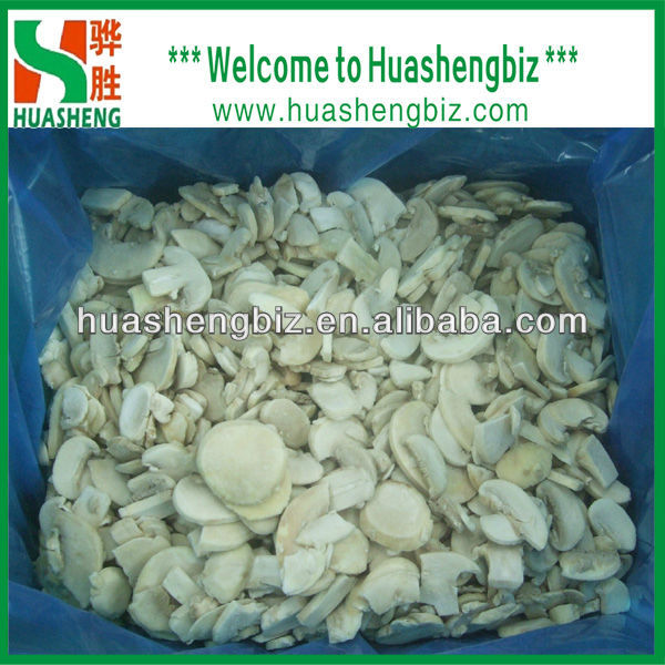 wholesale quick frozen champignon sliced