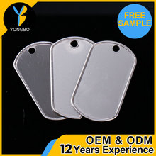 Wholesale Embossed Metal Dog Tag For Men with great price