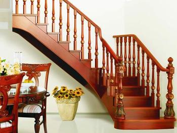 Elegant duplex stairs wooden stairs classic stairs